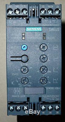 2 X Siemens Sanftstarter Soft-démarreur, 22kwithac 200-480v, Ac / DC 24v, 3rw4036-1bb04
