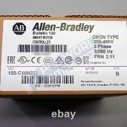 2021 Nouveau Joint Allen Bradley 150-c16nbd /b Smc-3 Soft Starter Date Tardive 1yr Wty