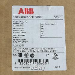 Abb 1sfa897105r7000 Pse45-600-70 Soft Starter Moteur 22kw 30 Disponible Nouvelle 45a