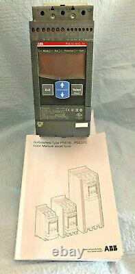 Abb Soft Starter Pse18-600-70 18amp, 7.5kw 1sfa897101r7000 Made In Sweden