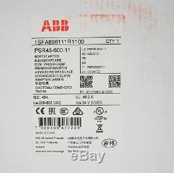 Abb Stotz-kontakt Softstarter Psr45-600-11 Sanftanlauf 1sfa896111r1100 Neu + Ovp