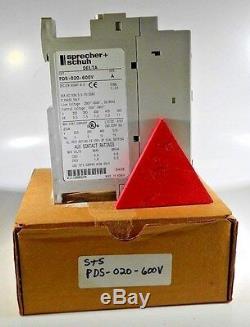 Allen Bradley Pds020600v 20a Démarreur Progressif Nouveau Dans La Boîte