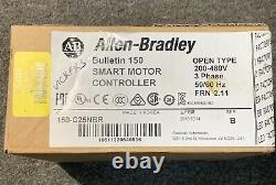 Allen Bradley Smc-3 150-c25nbr 3 Phase Soft Starter Brand Nouveau