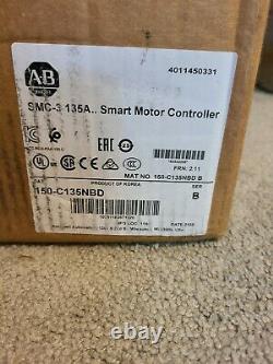 Allen Bradley Smc-3 Smart Soft Starter Motor 150-c135nbd Series B (new Open Box)