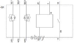 Avviatore Soft Starter 32a 400v 15kw Bobina Ac/dc 110-230v Softstarter Siemens