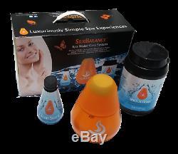 Bienvenue À L'eau Kit D'entretien Par Silkbalance Starter Kit Eau Douce Hot Tubs