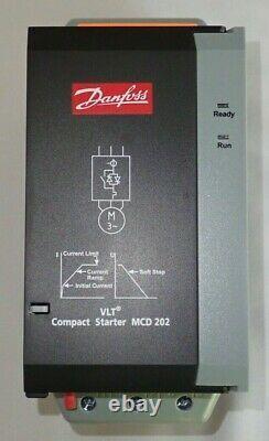 Danfoss 15kw Soft Starter 175g5221 MCD 202-015-t4-cv1 3p 200-440vac 50/60hz