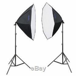 Mettle Led-studio-set Led Starter Kit 300 (8x25 W) Foto Vidéo Leuchte Softbox