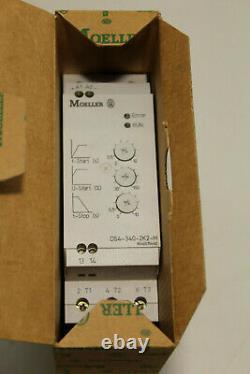Moeller Ds4-340-2k2-m Softstarter 2,2kw Nouveau
