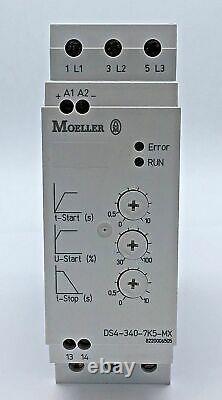 Moeller Ds4-340-7k5-mx Softstarter 7,5 Kw 400v 110-500v Soft Starter