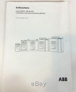 Nouveau Abb Pst60-600-70 1sfa894006r7000 Softstarter Demarreur 60a 600v (lecture)