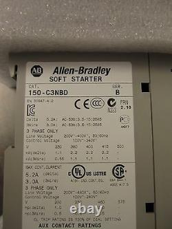 Nouveau Allen Bradley 150-c3nbd Smc-flex Soft Start Smart Motor Controller