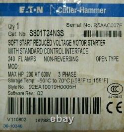 Nouveau Démarrage Doux Eaton S801t24n3s 240a 92ea10019h0005h