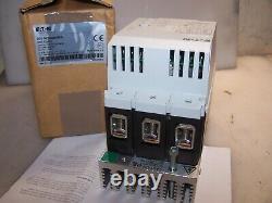 Nouveau Eaton 60 HP Soft Start Motor Starter 460 Vac Ds6-34dsx081n0-n Bobine 24 VDC