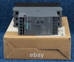 Nouveau Siemens 3rw3026-1bb04 E05 Sirius Motor Softstarter Solid State Relay Drive