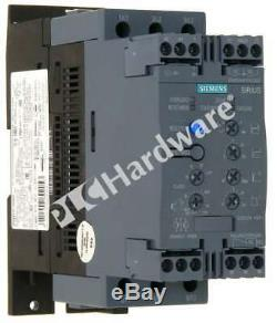 Nouveau Siemens 3rw4037-1bb04 3rw4 037-1bb04 Sirius Démarreur Progressif Taille S2 63a