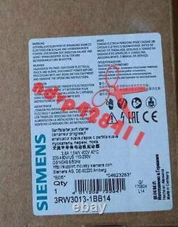 One Nouveau Siemens Soft Starter 3rw3013-1bb04 3rw 3013-1bb04