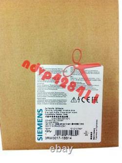 One Nouveau Siemens Soft Starter 3rw3017-1bb14 3rw3017-1bb14