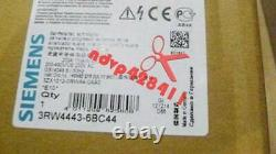 One Nouveau Siemens Soft Starter 3rw4443-6bc44 3rw4 443-6bc44