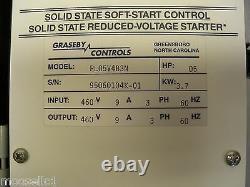 Pl05v4b3n Graseby Controls 5 HP Nema 12 Softron Soft Starter 460v