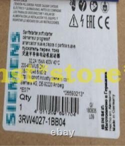Pour Siemens 3rw4027-1bb04 Soft Starter 3rw40271bb04