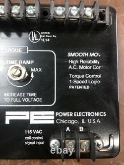 Power Electronics E6046-1b Single Speed soft Start Réduit Torque Control L365
