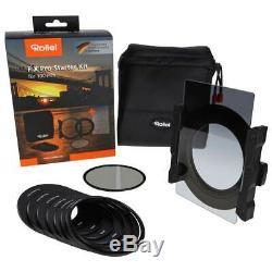 Rollei Fx Pro 100 Starter Kit Filterhalter + Cpl + Soft Gnd8 + Tasche