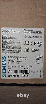Siemens 3rw3035-1ab14 Sanftstarter Softstarter Sanftanlanlauf Motor 18,5kw 38a