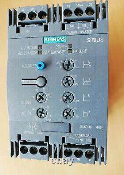 Siemens Sanftstarter Soft-starter, 55kwith106a, Ac 200-480v, Ac/dc 24v, 3rw4047-1bb04