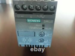 Siemens Sirius Démarreur Doux 3rw3018-1bb04 7,5kw 10hp 3 Phase 200-480vac Moteur