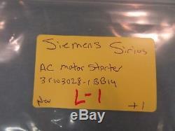 Siemens Sirius Moteur Triphasé Démarreur Progressif 3rw3028-1bb14 S0 38a 18,5 Kw Pm300 Plm New