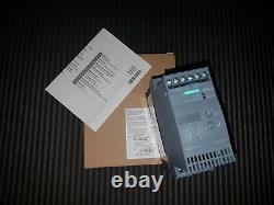 Siemens Sirius Sanftstarter 3rw3028-1bb14 Démarreur Souple 18,5 Kw E05 Neu // Nouveau