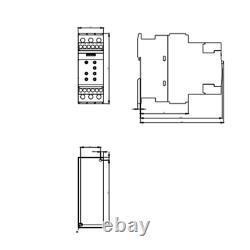 Soft Starter Avviatore Motore Statico 12,5a 400v 5,5kw Softstarter Siemens