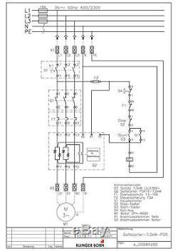 Softstarter Psr 7,5kw (für Normalen Anlauf), Hauptschalter, Non-a, Nr. 0098.4280