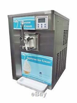 Supreme Ice Cream Soft Serve Machine Ss1 Mode De Stockage Complet Starter Pack En Stock