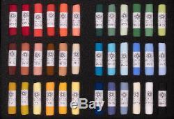 Unison Artiste Qualité Starter Set Pastels Tendres De 36 Couleurs