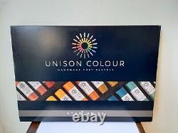 Unison Soft Pastel Starter Set Of 72 In Black Presentation Box Bnib