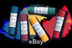Unisson Pastels Roulé À La Main Half / Sets Complets, 12, 16, 18, 30, 63, 72, 120