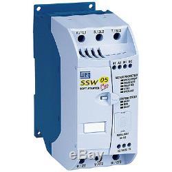 Weg Soft Entrees Ssw05 Série Ssw050060t2246epz 60a 20hp / 230v 40hp / 460v Nouveau