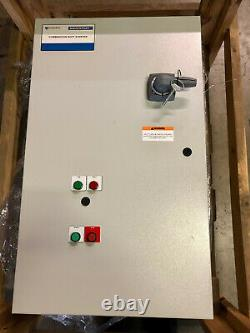 Xylem Centripro Aquastart Ast20500 40-50 HP 130 Ampères Avec Weg Ssw07 Soft Starter